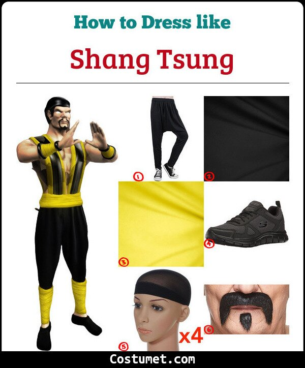 Shang Tsung Cosplay & Costume Guide