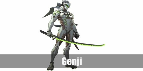 Genji (Overwatch) Costume