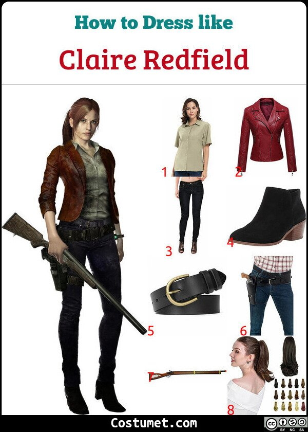 Claire Redfield Costume for Cosplay & Halloween