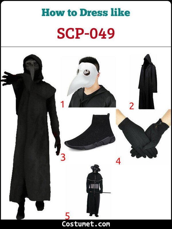 SCP-049 Costume for Cosplay & Halloween