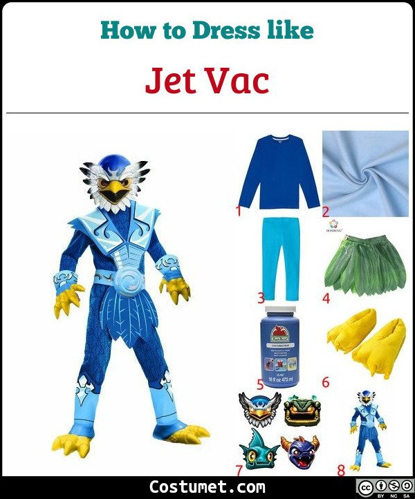 Jet Vac Costume for Cosplay & Halloween