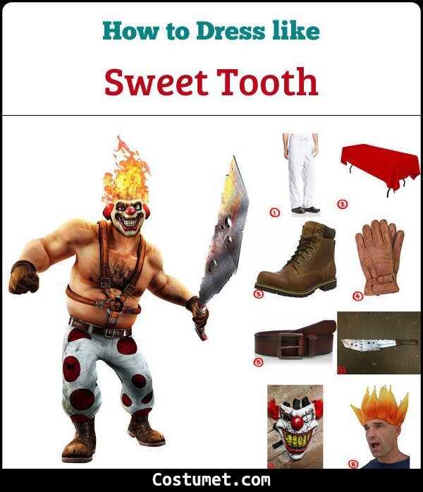Sweet Tooth Costume for Cosplay & Halloween