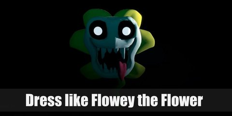 Flowey the Flower Costume