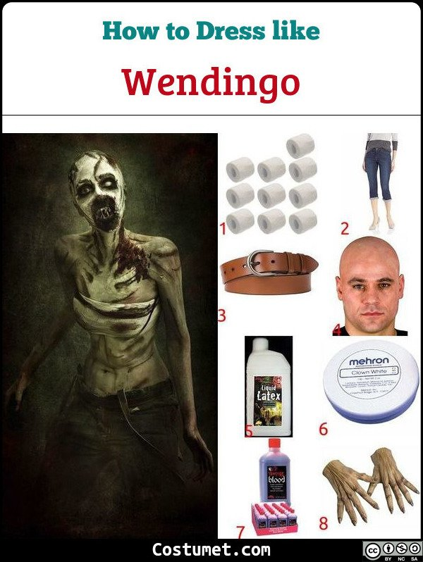 Wendingo Until Dawn Costume for Cosplay & Halloween