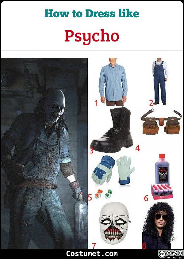 Psycho Until Dawn Costume for Cosplay & Halloween