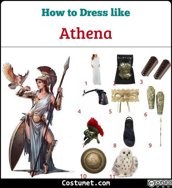 Athena Costume for Cosplay & Halloween