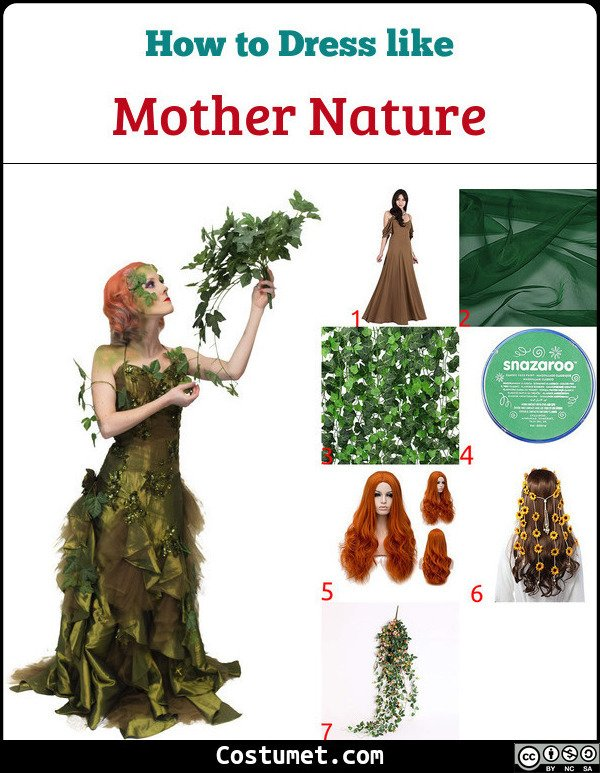 Mother Nature Costume for Cosplay & Halloween