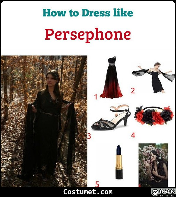 Persephone Costume for Cosplay & Halloween