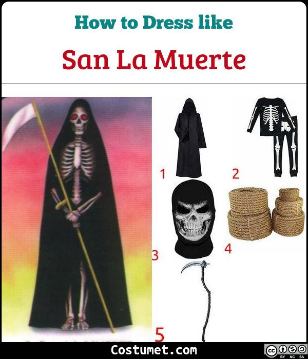 San La Muerte Costume for Cosplay & Halloween