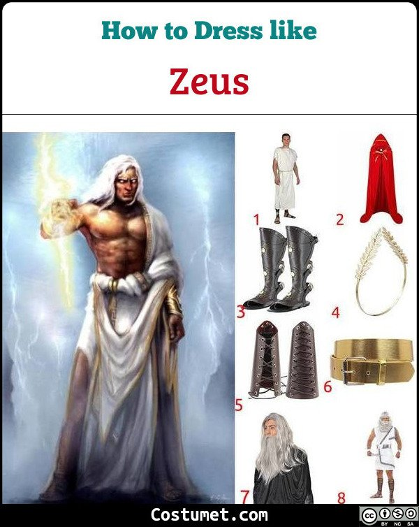 Zeus Costume for Cosplay & Halloween