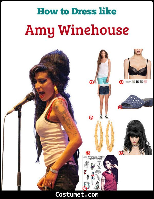 Amy Winehouse Cosplay & Costume Guide