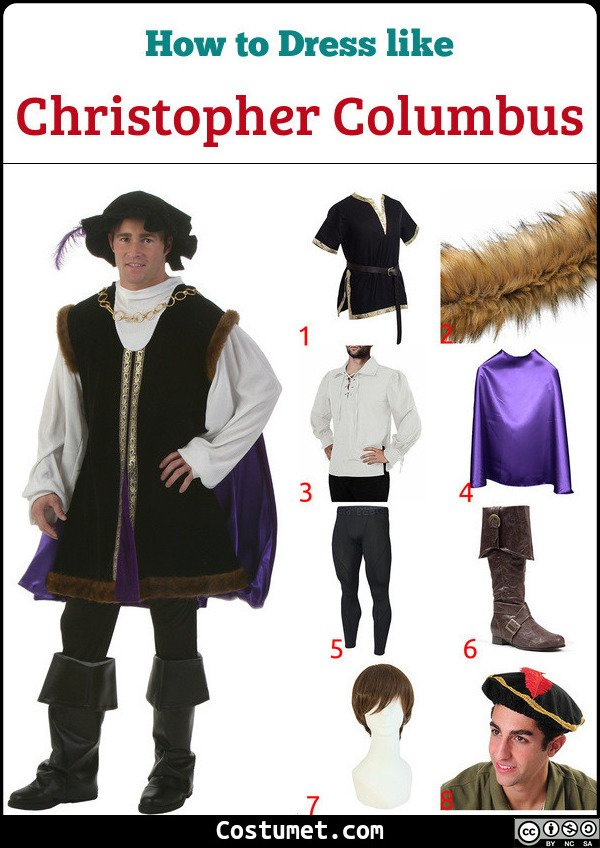 Christopher Columbus Costume for Cosplay & Halloween