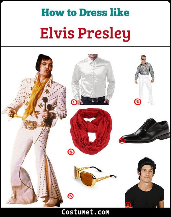 Elvis Presley Cosplay & Costume Guide