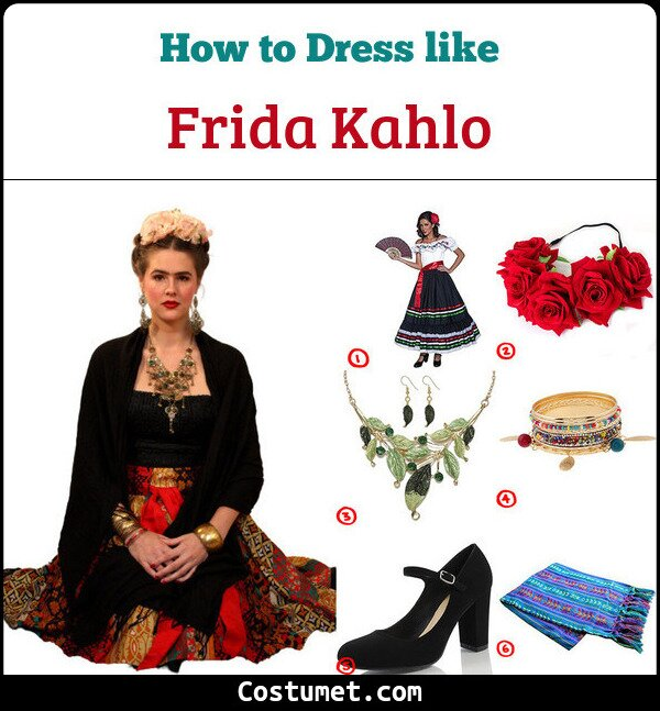 Frida Kahlo Cosplay & Costume guide