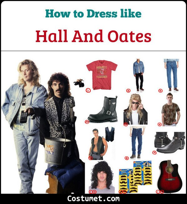 Hall & Oates Cosplay & Costume Guide