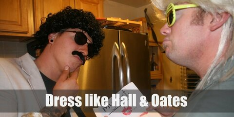 Hall and Oates Costume