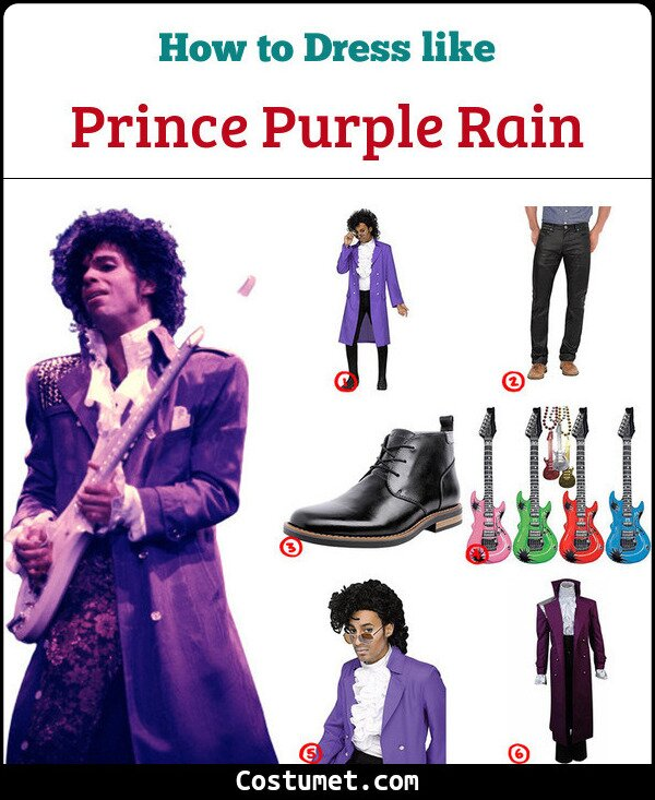 Prince Cosplay & Costume Guide