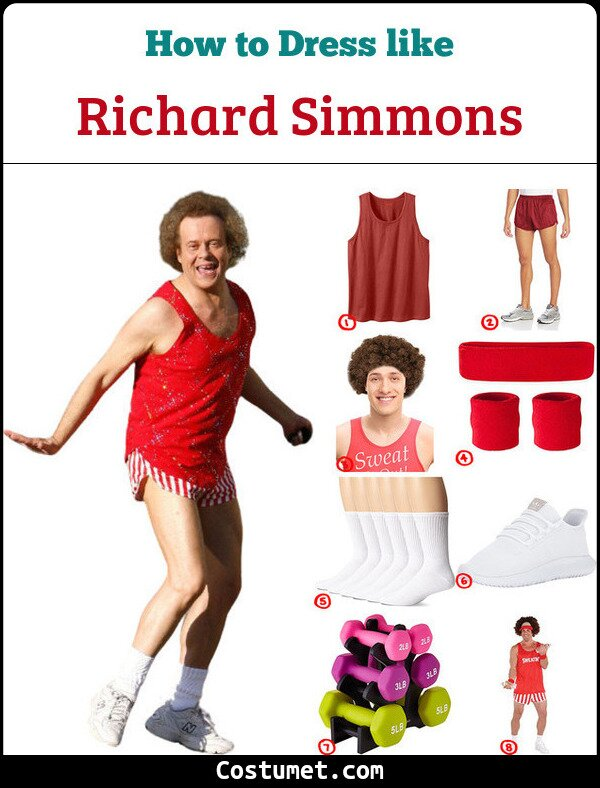 Richard Simmons Cosplay & Costume Guide