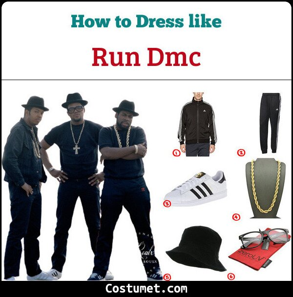 Run DMC Cosplay & Costume Guide