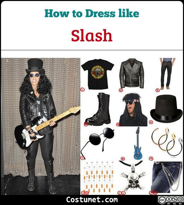 Slash Cosplay & Costume Guide