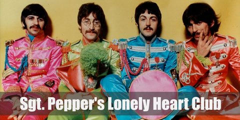 Sgt Pepper Lonely Hearts Club (The Beatles) Costume