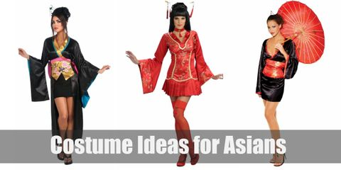 If you want to stick to your Asian roots this Halloween, pop culture has a lot in store for you!