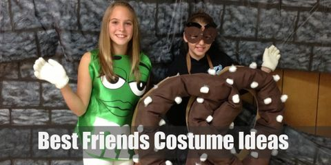 Celebrate your fun friendship with these cool costumes!