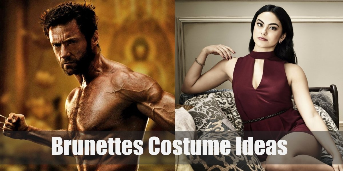 10 Artistic Amusing Costume Ideas For Brunettes For Cosplay Halloween 2020
