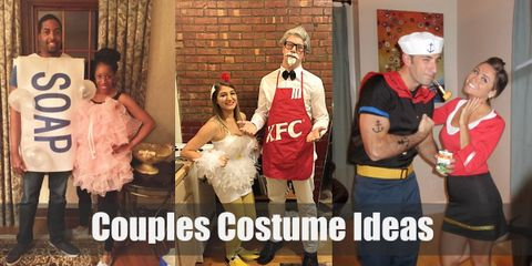 Show your love with clever, matching costumes this Halloween!