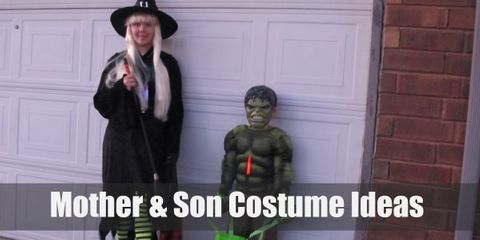 10 Clever & Adorable Mother and Son Costume Ideas