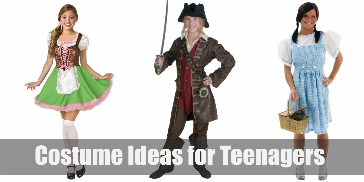 10 Cute Easy Diy Costume Ideas For Teenagers For Cosplay Halloween 2020