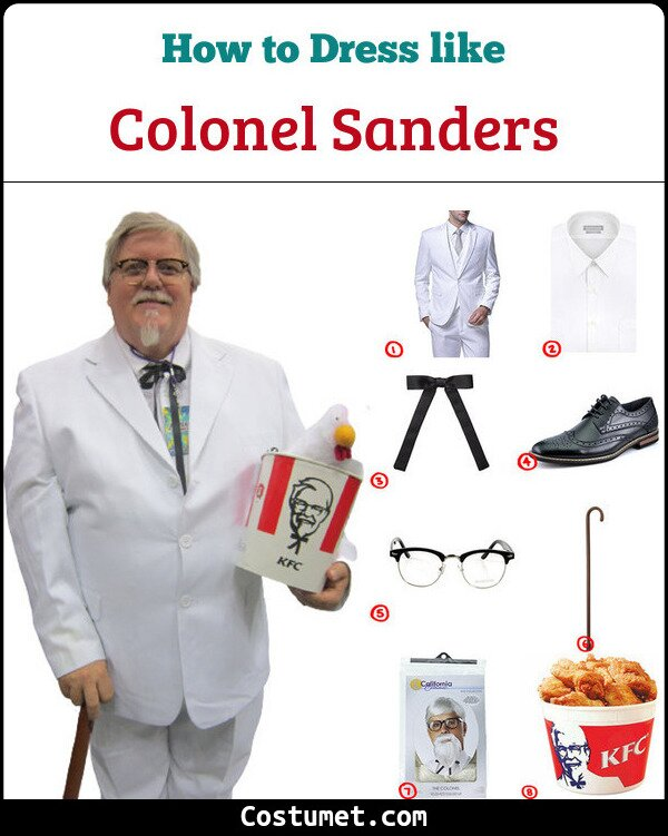 Colonel Sanders Cosplay & Costume Guide
