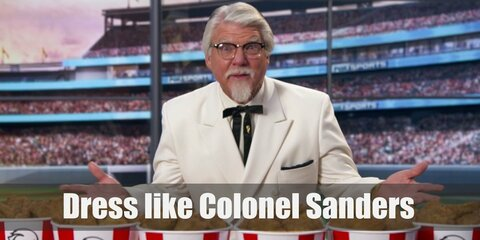 Colonel Sanders of KFC Costume