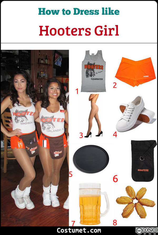 Hooters Costume for Cosplay & Halloween