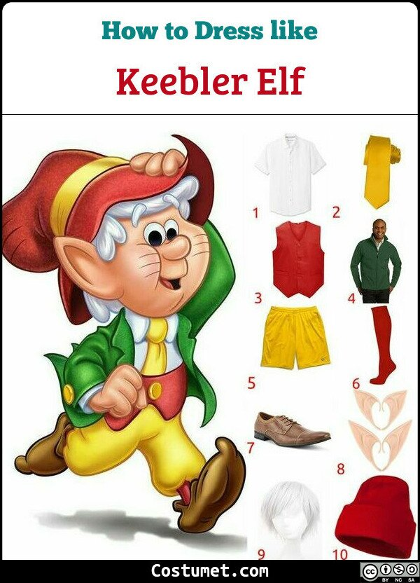 Keebler Elf Costume for Cosplay & Halloween