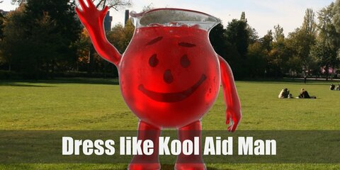 The Kool-Aid Man Costume