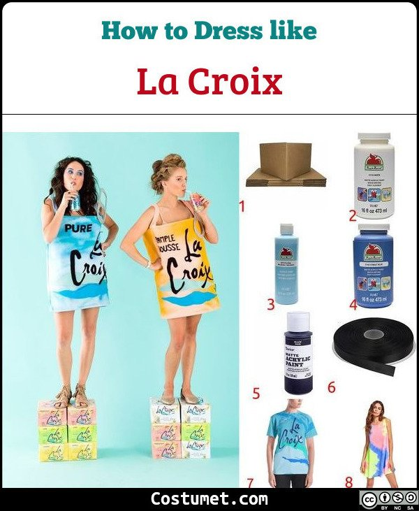 La Croix Costume for Cosplay & Halloween