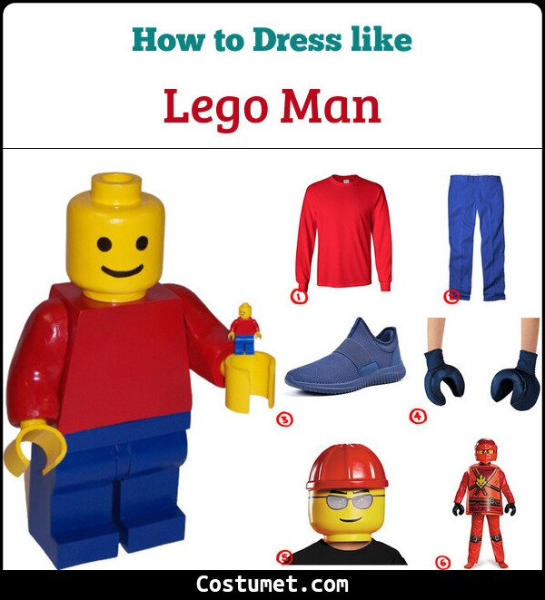 Lego Man Cosplay & Costume Guide