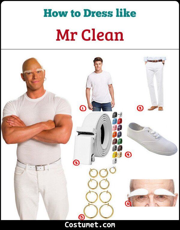 Mr Clean Cosplay & Costume Guide