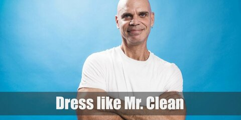 Dress Up Like Mr. Clean Costume