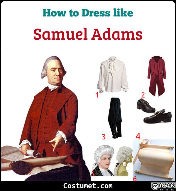 Samuel Adams Costume for Cosplay & Halloween