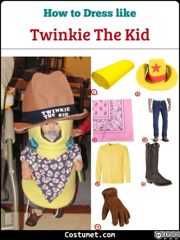 Twinkie The Kid Costume for Cosplay & Halloween