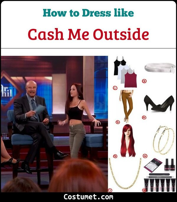 Cash Me Outside Costume for Cosplay & Halloween