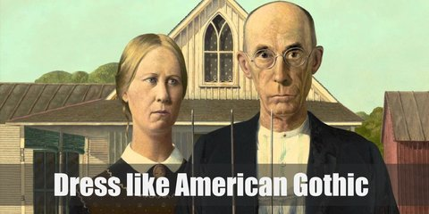 American Gothic Couple Costume