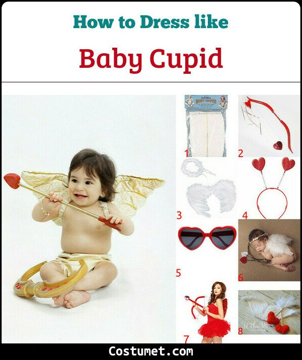 Baby Cupid Costume for Cosplay & Halloween