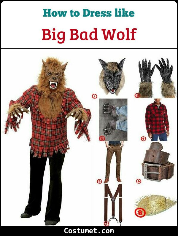 Big Bad Wolf Cosplay & Costume Guide