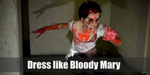 Dress Like Bloody Mary Costume