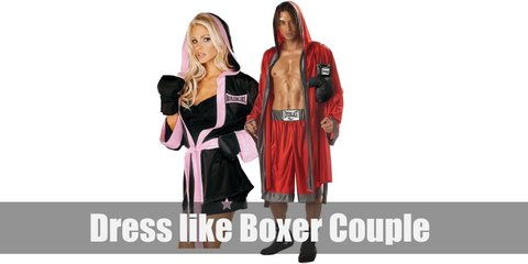 Boxer Couple Costume