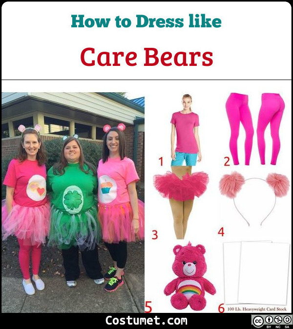 Care Bears Costume for Cosplay & Halloween