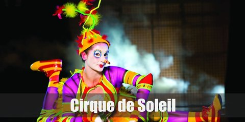Cirque du Soleil costumes include highly detailed and eye-catching details. Try on the classic circus ring master and clown pieces.